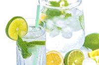 agua de hierbabuena